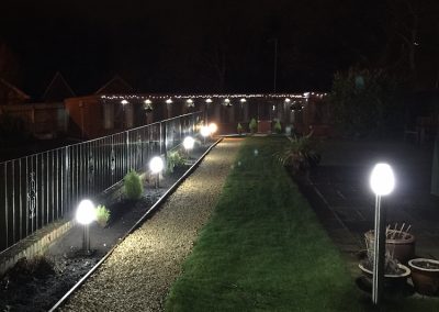 Professional Wirral Cattery at Night